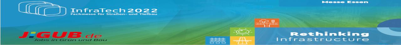 infratech 2020 - Fachmesse für Straßen- und Tiefbau